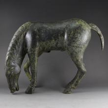 Chinese Han Dynasty Bronze Horse Statue