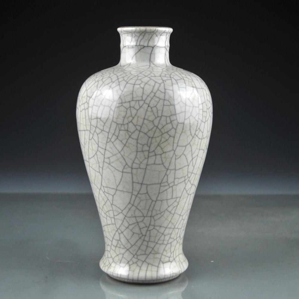 Beautiful Chinese Song Dy Ge Kiln Porcelain Vase