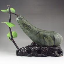 Beautiful Design Chinese Natural Watermelon Stone Statue