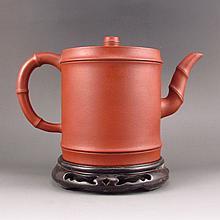 Superb Handmade Chinese Yixing Zisha Clay Teapot w Artist Signed