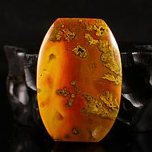 Natural Design Chinese Zhanguo Hong Agate Lucky Pendant