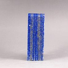 Hand Carved Chinese Natural Lapis Lazuli Seal