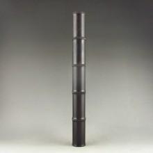 Chinese Ebony Wood Hand-carved Bamboo-designed Incense Box & Lid