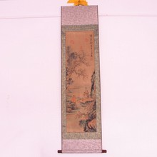 Superb Chinese Hand Draw Character Painting - Writing Home Letter