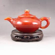 Superb Beautiful Color Hand Carved Natural Agate Teapot