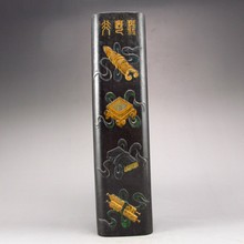 Handmade Chinese Black Block for Ink Stone