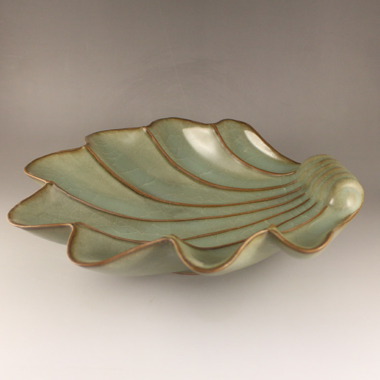 Chinese Long Quan Kiln Porcelain Plate