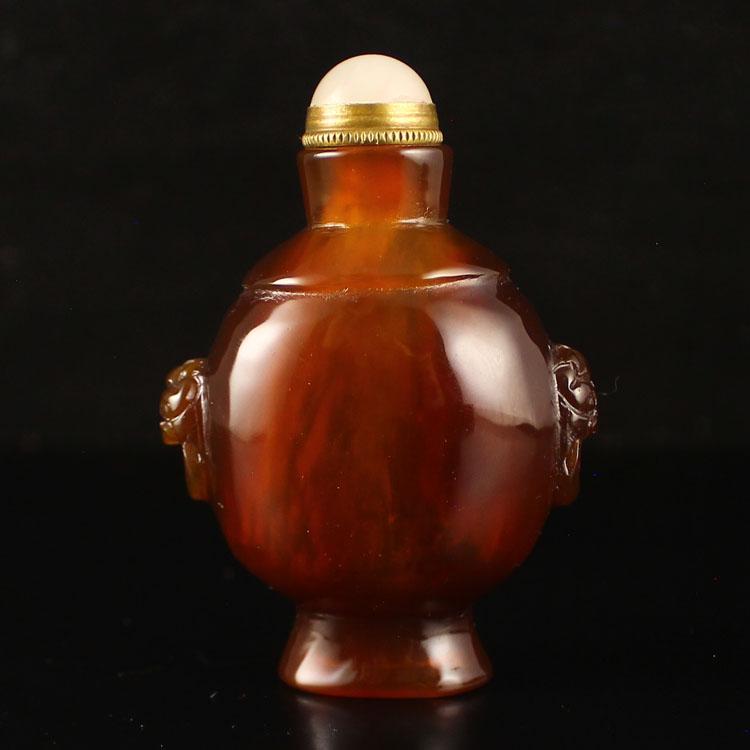 Beautiful Chinese Agate Snuff Bottle