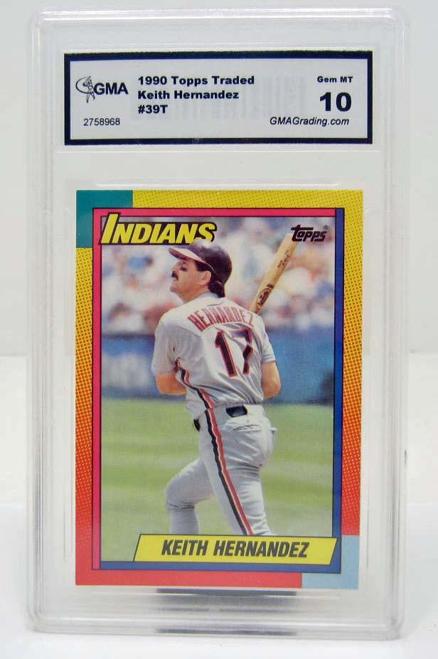 4996 1990 Topps Traded Keith Hernandez 39t Baseball Card