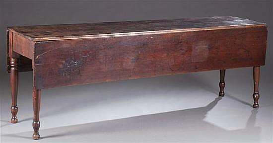 Sheraton Drop Leaf Table, Walnut, Ca. 1830