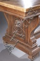 Late 19th Century Carved Walnut Table