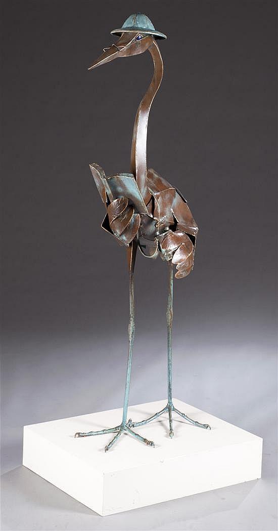 """Barry Norling Sculpture, """"Human Watcher"""", 1997-1998"""