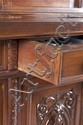 Late 19th Century Heavily Carved Walnut Sideboard