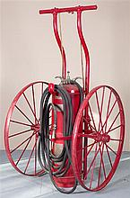Wheeled Chemical Fire Extinguisher