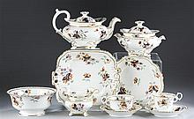 Worcester Tea Set, ca 1820