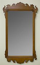 Chippendale Style Maple Mirror