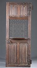 19th Century or Earlier Oak Confessional Door