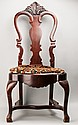 Dutch Style Chippendale Side Chair,