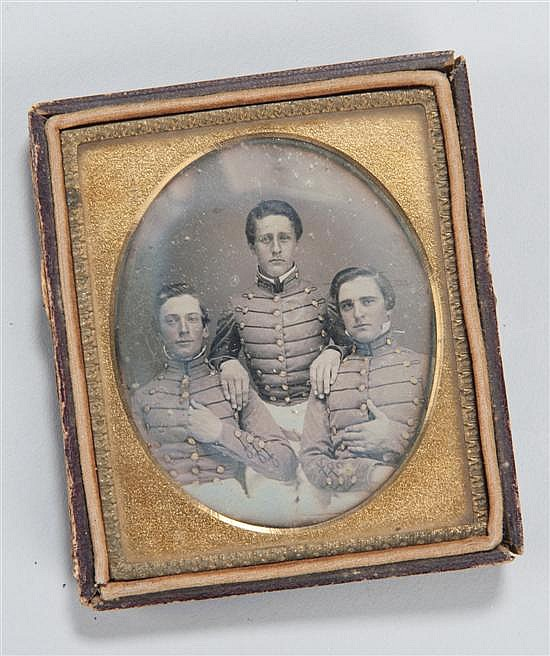 Pre-Civil War (1850S) Daguerreotype Image, Measuring 2-3/4