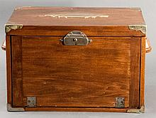 19th Century Mahogany Valuables Box
