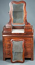 Victorian Chest of Drawers with Mirror