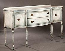 Continental Style Painted Sideboard
