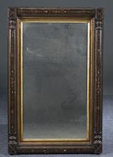 Aesthetic Inlaid Mahogany Mirror, Late 19th c.