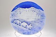 Pilgrim Cameo Glass Rondelle,