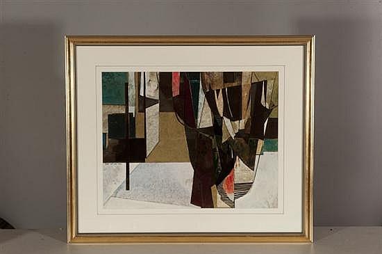 Vander Lee, Untitled, Mixed Media, Od: 27 H x 332 W Id: 18 H x 23 W