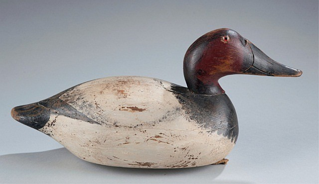 Mason Premier Grade Canvas Back Duck Decoy