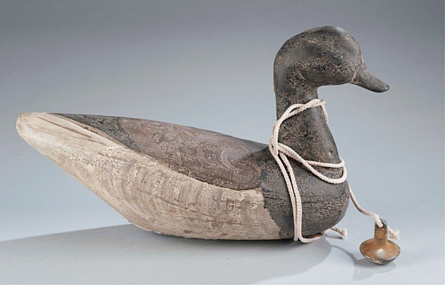 Brant Decoy with Anchor