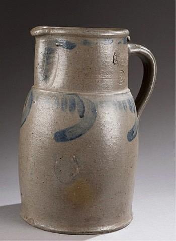 Funkhouser, Strasburg VA stoneware jug.