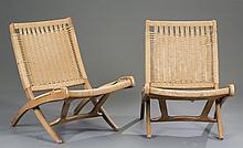 Hans Wegner Style Folding Chairs