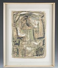 "Emil Weddige ""St. Francis"" Lithograph"