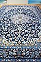 Blue Persian Kashan