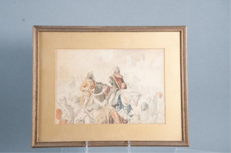 19th C. Watercolor