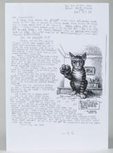 R. Crumb Letter with