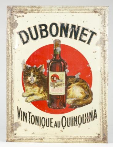 Dubonnet Vin Tonique au Quinquina Tin Plate.