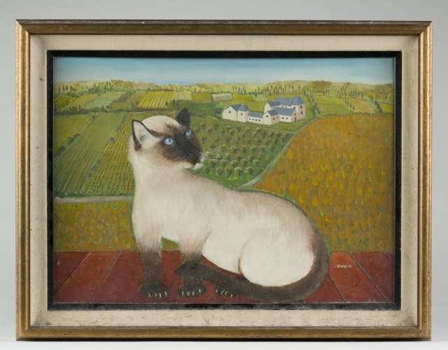 Siamese Cat by J. Irwin.
