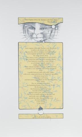 Ray Bradbury & Patrick Eddington Poster.
