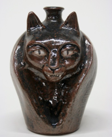 Patrick Eddington Earthenware Cat Jug.