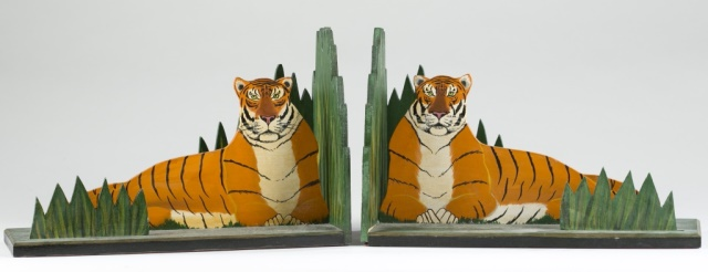 John Butler Tiger Book Ends.