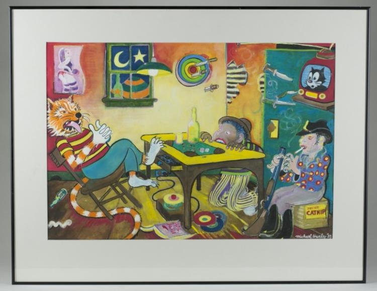 Michael Hurley Artwork For Sale At Online Auction Michael Hurley