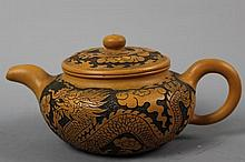 A Chinese YiXing Tea Pot