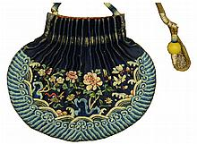 A Chinese Silk Embroidery Sachet