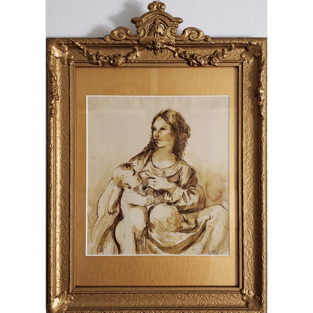 Giovanni Battista Tiepolo 1696 -1770 Watercolor Study
