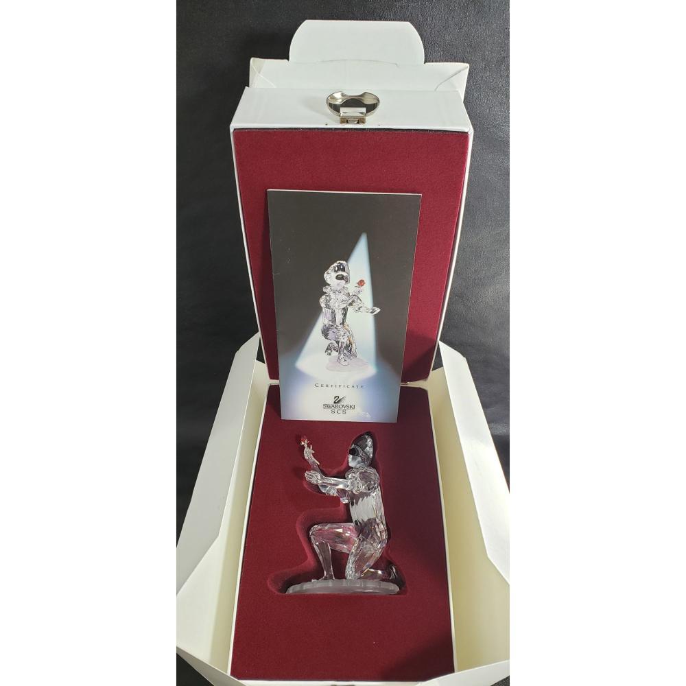 Swarovsky Crystal Masquerade Harlequin In Box.