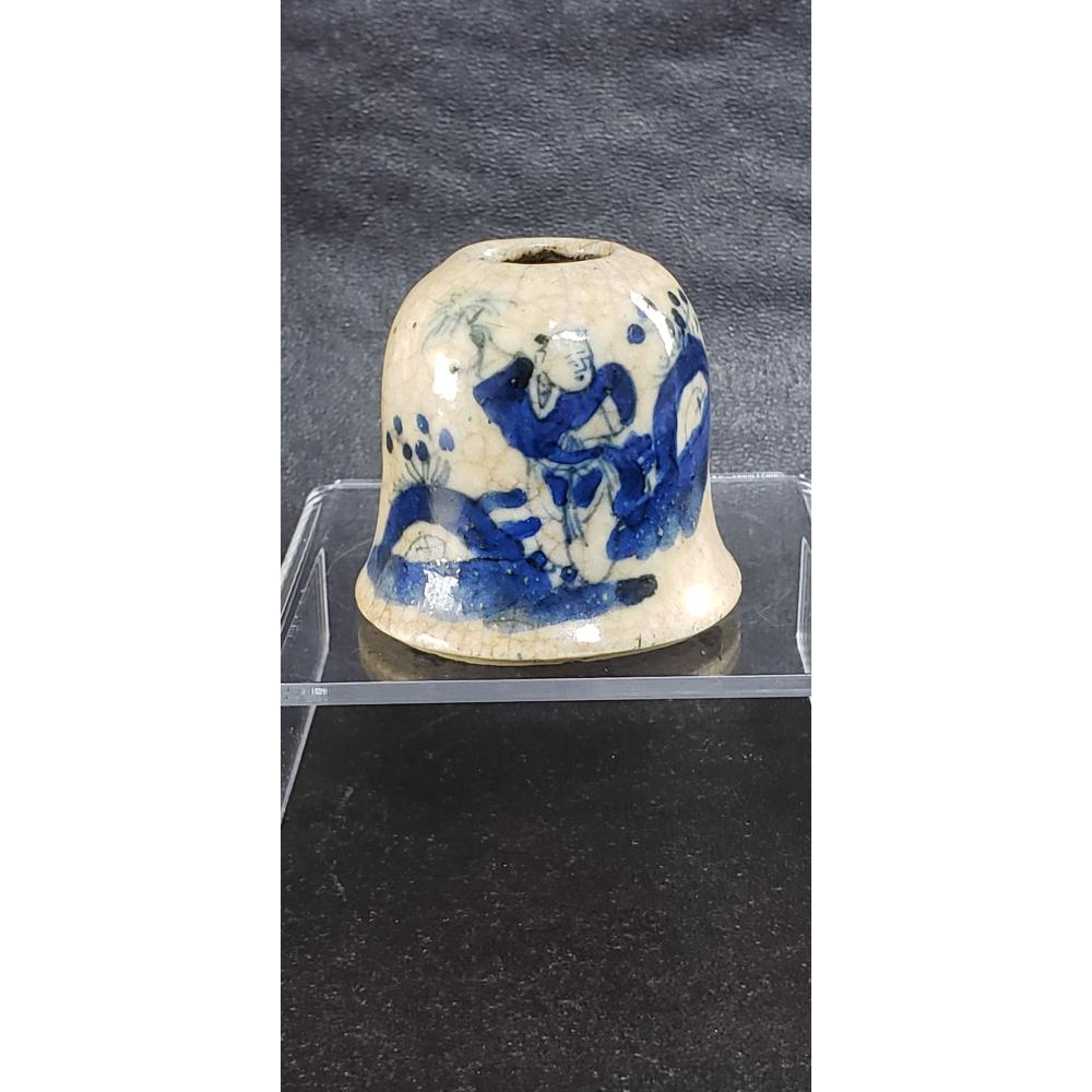 Chinese Crackle Glaze Water Coupe 18-19 c