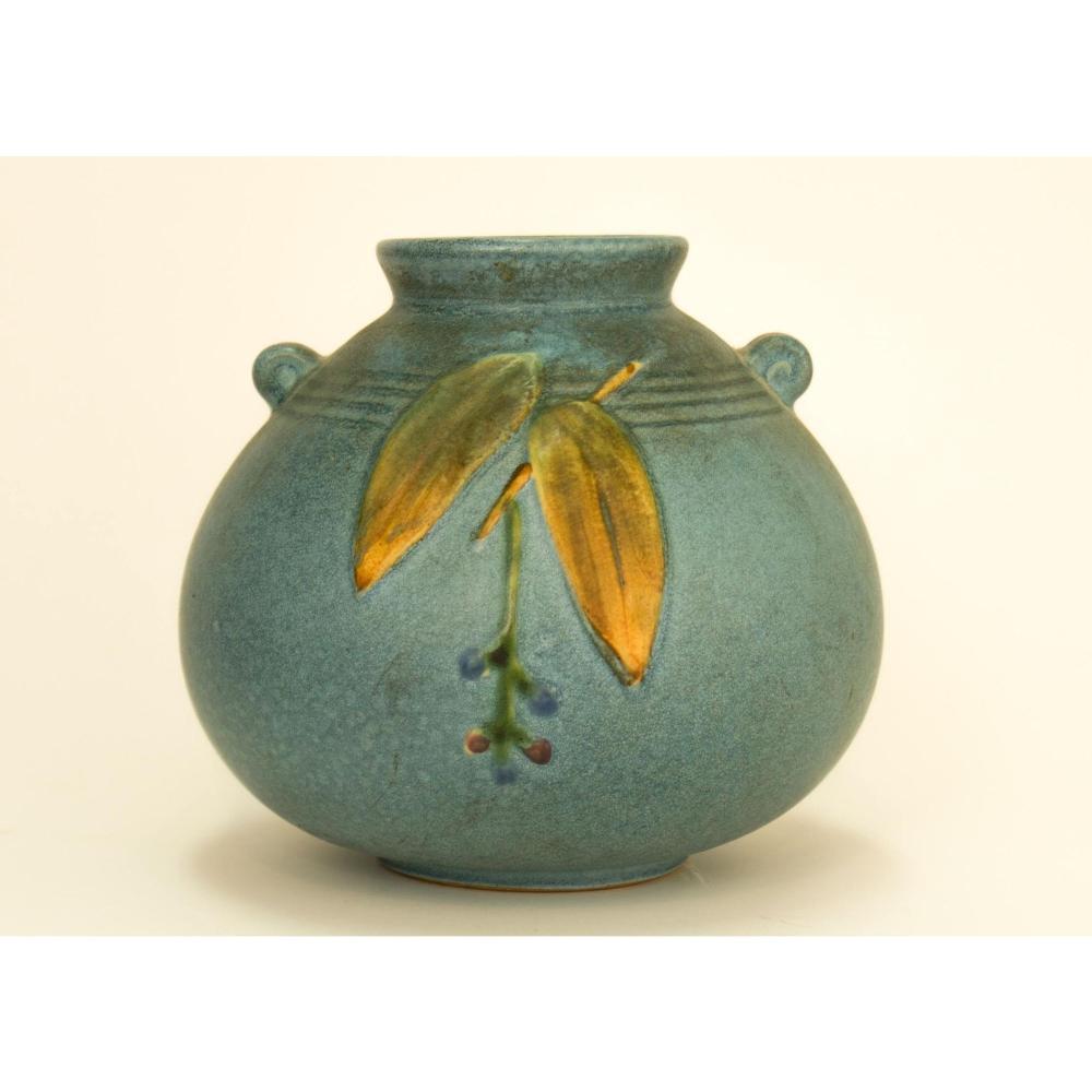 Antique Weller Pottery Cornish Vase.