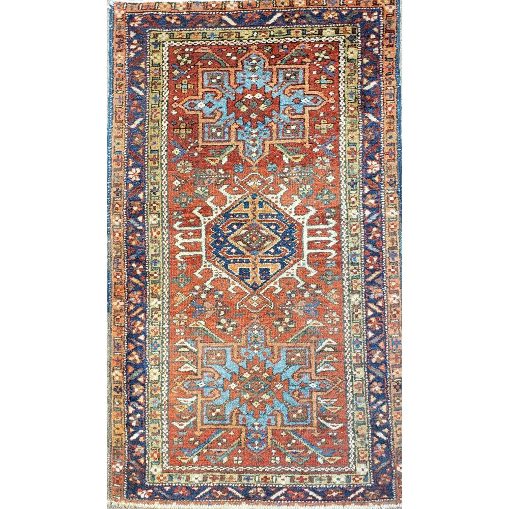 Antique Persian Prayer Rug 19th C